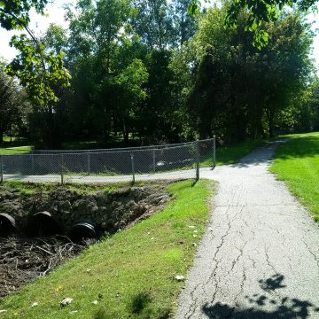 Chatham - Brown Drain Pathway